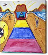 Ufo Dock Canvas Print
