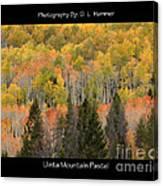 Uinta Mountain Pastel Canvas Print