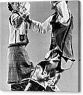 Ukrainian Folk Dancers Canvas Print