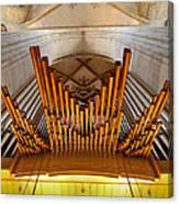 Ulm Pipe Organ Canvas Print
