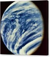 Ultraviolet Photo Taken By Mariner 10 Canvas Print