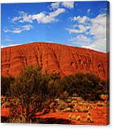 Uluru Central Australia Canvas Print