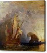 Ulysses Deriding Polyphemus Canvas Print
