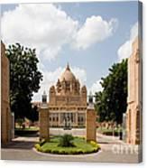 Umaid Bhawan Palace, India Canvas Print