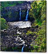 Umauma Falls I Canvas Print