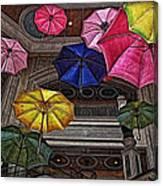 Umbrella Fun Canvas Print