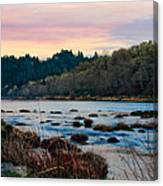 Umpqua Sunset Canvas Print