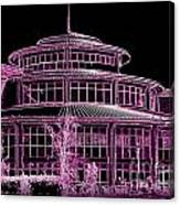 U.m.s.l. In Neon Canvas Print