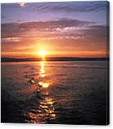Unbelievable Sunrise Canvas Print