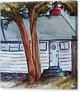 Uncle Bills Cottage Canvas Print