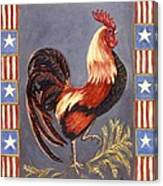 Uncle Sam The Rooster Canvas Print