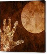 Under A Copper Moon Canvas Print