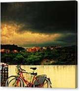 Under An Ominous Sky Canvas Print