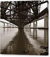 Under Bridges Canvas Print