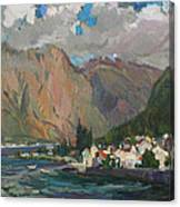 Under Heaven Of Montenegro Canvas Print