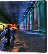 Under Lasalle St. Station Canvas Print