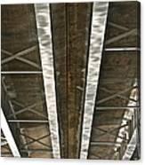 Under Overpass Canvas Print