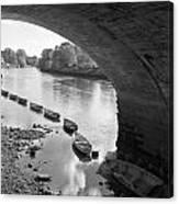 Under Richmond Bridge Canvas Print