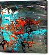 Under Sea Ladders 3 Canvas Print