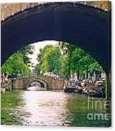 Under The Canals Canvas Print