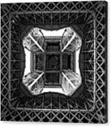 Under The Eiffel Canvas Print