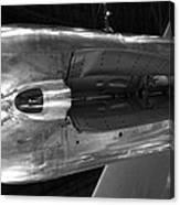Under The Jet Engine Canvas Print