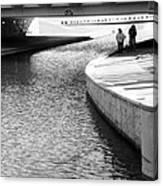 Under The Main Street Bridge Canvas Print
