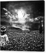 Under The Moonlight Canvas Print
