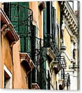 Under The Rialto Bridge Canvas Print