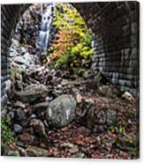 Under The Road Canvas Print