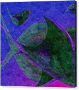 Under The Sea Painterly Canvas Print