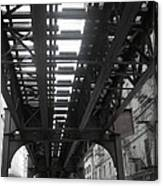 Under The Tracks Canvas Print