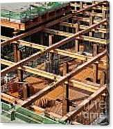 Underground Construction Project Canvas Print
