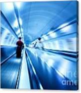 Underground Motion Canvas Print