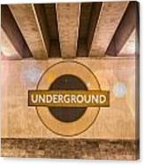Underground Underground Canvas Print
