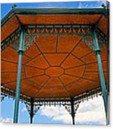 Underneath A French Gazebo Canvas Print