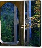 Underneath The Bridge Canvas Print