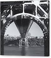 Underneath The George Washington Bridge Iv Canvas Print