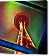 Underneath The Space Needle Canvas Print