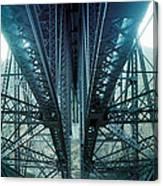 Underside Of A Bridge, Hudson Valley Canvas Print