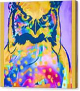 Understated Owl Canvas Print