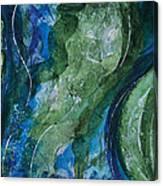 Underwater Galaxy Canvas Print