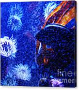 Underwater Swarm Canvas Print