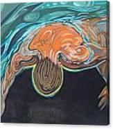 Underwater Swimmer. Part II     Canvas Print