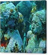 Underwater Tourists Canvas Print