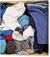 Underwear And Socks Canvas Print