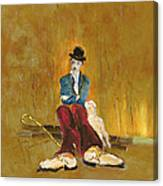 Une Vie De Chien - Orig. For Sale Canvas Print