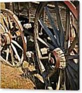 Unequal Wheels Canvas Print