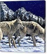 Wolves - Unfamiliar Territory Canvas Print