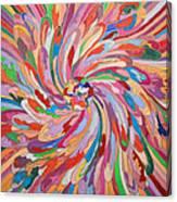 Unfolding Melody Canvas Print